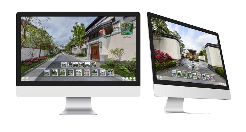 VR售楼系统+地产销售新模式